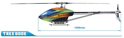 Align Helicopters T-Rex 800E