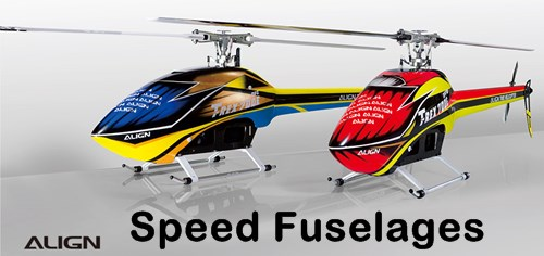 Align Helicopter's Speed Fuselages