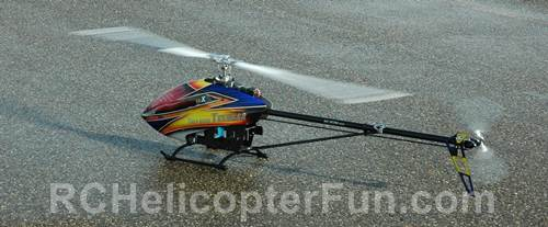 RC Helicopter Autorotation Touchdown