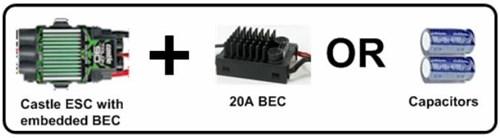 External BEC or Adding Capacitance?