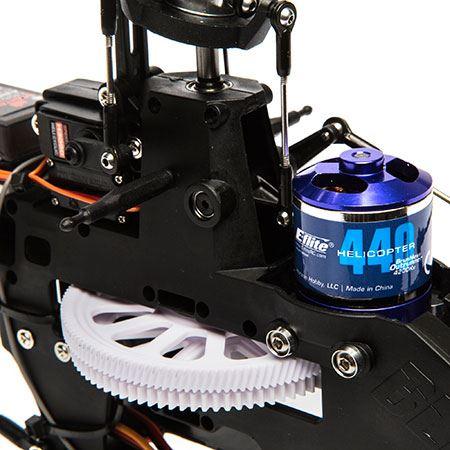 Blade 330X Uses E-flite's 440H 4200Kv Motor