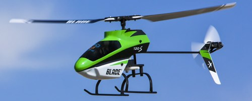 Fixed Pitch Radio Controlled Helicopter