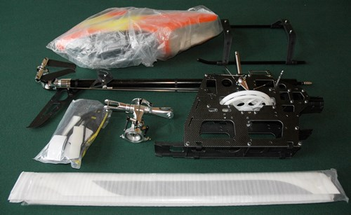 RC Helicopter Build Service - Components Broken Down For Shipping
