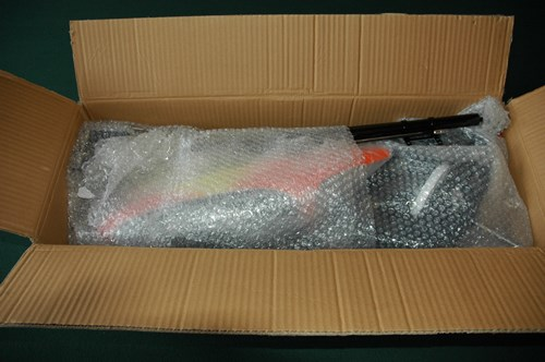 RC Helicopter Build Service - Components Packaged For Shipping