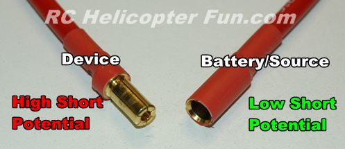 Bullet Connector Pin Short Potential
