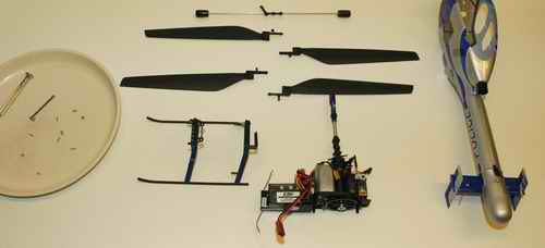 Fuselage Removed Off CX3 - Pretty Easy