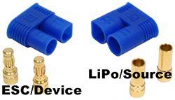 EC3 RC LiPo Battery Connector