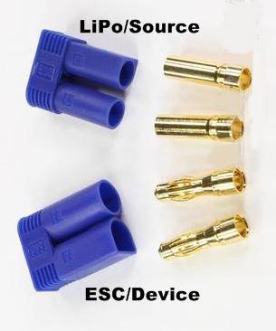 EC5 RC LiPo Battery Connectors