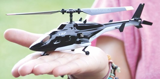 Esky's Ready To Fly F150X Micro Airwolf RC Helicopter