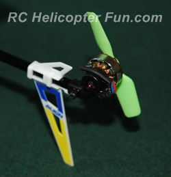 Brushless Direct Drive Tail Rotor