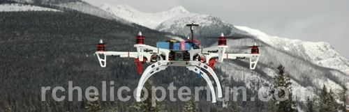 Hex Multi-Rotor FPV Aircraft