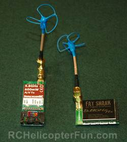 IBCrazy's 5.8 GHz BlueBeam TX & RX FPV Antenna Set