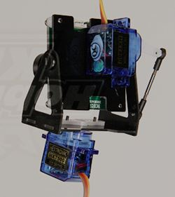 Motorized 2-Axis FPV Camera Mount