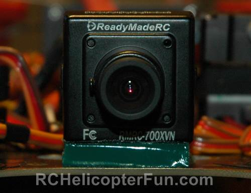 Simple FPV Camera Mounting Using Gel Zeal Tape