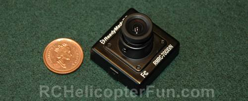 Typical CCD FPV Camera
