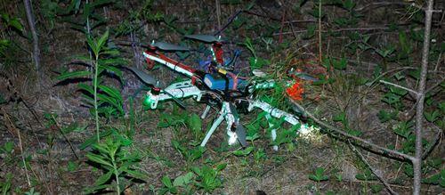 DJI F550 FPV Crash