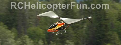 RC Helicopter In Forward Flight Experiancing Translational Lift