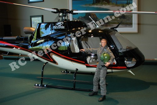 GI Jane Scale Helicopter Pilot - The Perfect Size!
