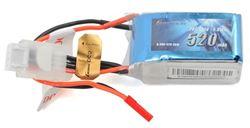 Gens-Ace 3S 520mah 30C 130S Li-Po Option