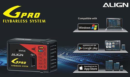 Align's GPRO Flybarless System