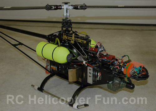 RC Turbine Helicopter Mechanics & Electronics