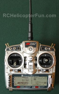 RC Helicopter Computerized Radio