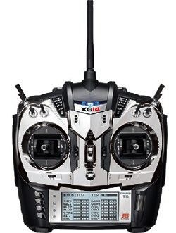 JR DMSS XG14 Radio