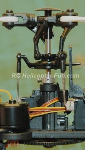 XK K123 Rotor Head Assembly