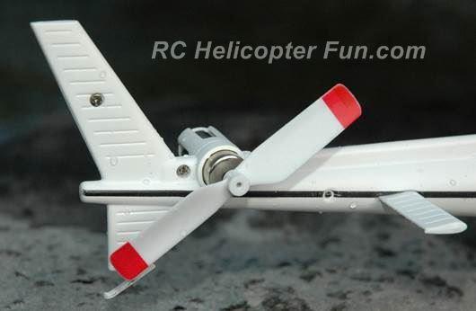 XK K123 Large Diameter Tail Rotor