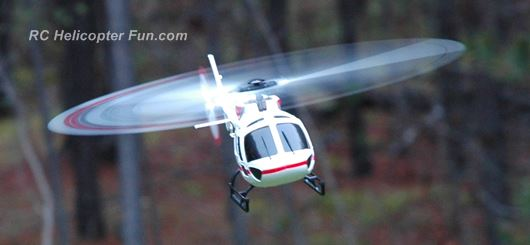 XK K123 Heavy Right Lean From Left Tail Rotor Translating Tendency
