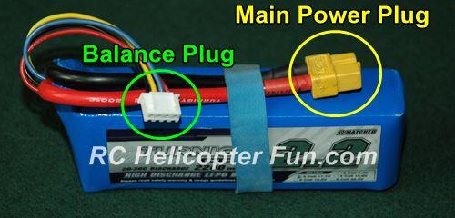 RC LiPo Battery Balance Plug