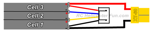RC LiPo Battery Wiring Schematic