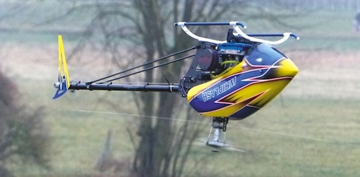 Miniature Aircraft Whiplash-G Gas RC Helicopter