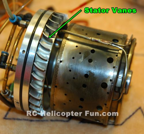 Model Jet Engine Combustion Chamber