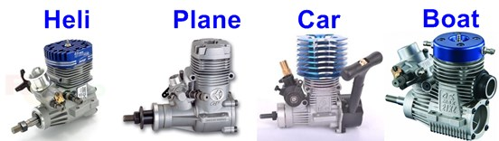 Nitro Engine Cooling Head Comparisons