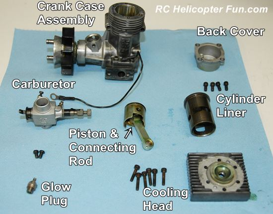 Nitro Engine Parts