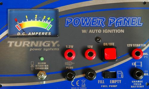 Nitro RC Engine Power Panel