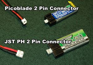 Picoblade & JST PH RC LiPo Battery Connectors