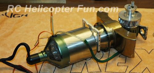 RC Turbine Helicopter Engine