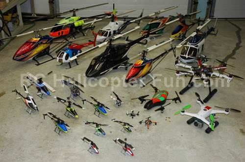 Some Of The RC Helicopter Reviews I Have Done