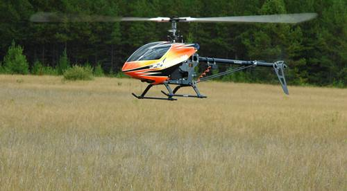 RC Helicopter Entering Ground Effect