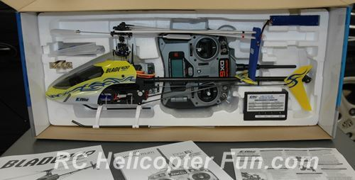 Typical Ready To Fly RC Helicopter Package