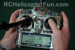 RC Helicopter Radio Controller