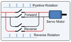 Servo Reversal Circuit Diagram