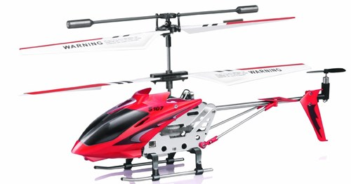 Syma 3CH Coaxial Toy Helicopter with Tail Fan