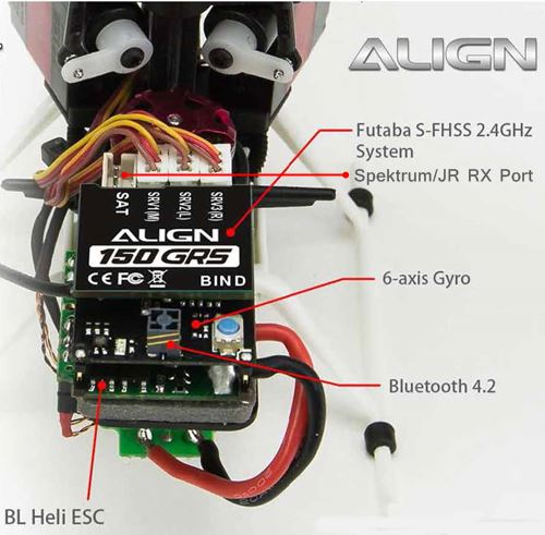 Align 150 GRS FBL & ESC Unit