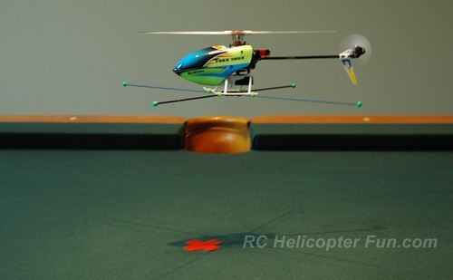 Micro Heli With Home Made Training Gear