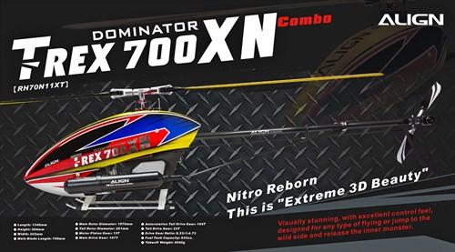 Align 700XN Nitro Super Combo Kit