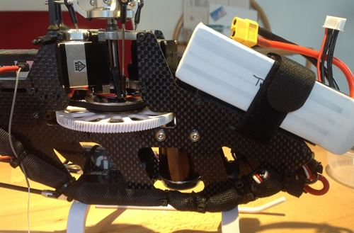 Blade Trio 360 4S Battery Position For Correct CG