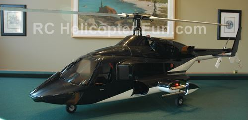 600 Size Airwolf RC Helicopter